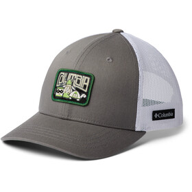 Columbia Snap Back Hat Kids titanium/white/true green/camp creature patch
